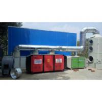 印刷厂废气除味车间uv光解净化处理环保设备