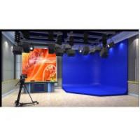 锐阳视讯虚拟演播室蓝箱绿箱制作 灯光装修
