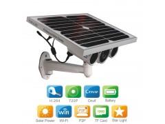 HW0029-3太阳能供电无线AP室外高清网络摄像机