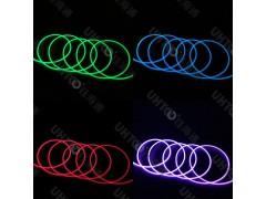 通体导光条 流光闪点七彩导光棒 变幻发光装饰条 幻彩发光线