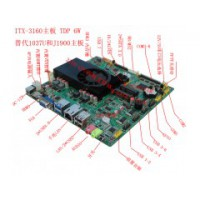 J3160金融自助/网络安防监控/智能终端/6串低功耗主板
