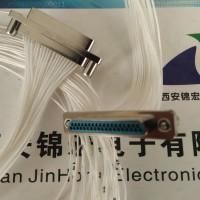 带L型锁紧件J30J-37TJL锦宏牌压接连接器生产销售