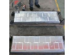 生产定制彩石瓦模具蛭石瓦模具