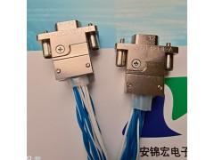 GJB标HJ30J-18TJ压接带线高速连接器生产供应