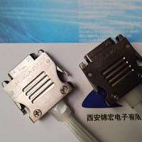GJB带电缆插头J30JA-37TJ快锁矩形连接器生产供应