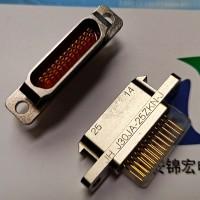 PCB直插接插件J30JA-25ZKN-J锦宏牌矩形连接器