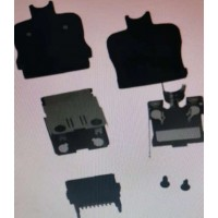 3540-16P-CV(50)广濑HRS镀金黑色插头·