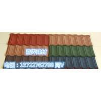 彩石金属瓦生产工艺简介  多彩蛭石瓦上海厂家销售