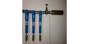 避难硐室供氧系统 矿用压风不锈钢过滤器